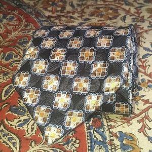 Holographic Ermenegildo Zegna Silk Cross Tie, NWT